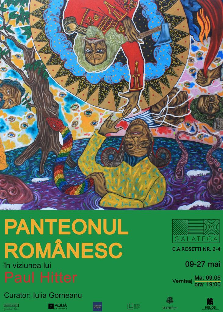 Afis Paul Hitter Panteonul Romanesc Galateca