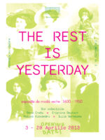 THE REST IS YESTERDAY