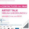 Contactless Artist Talk 3 Miruna Gheordunescu Galateca